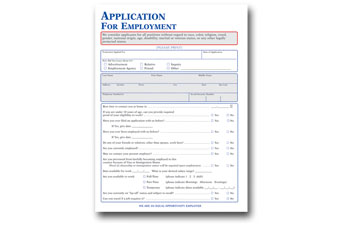 job application